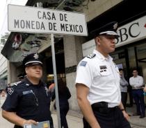 Ladrões roubam milhões em moedas de ouro na Casa da Moeda no México