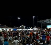 Senador Telmário Mota promove festa com aglomeração em meio a fase grave da pandemia em RR