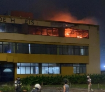 Hotel é parcialmente atingido por incêndio na orla de Salvador  seis pessoas foram socorridas
