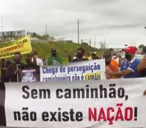 Caminhoneiros fazem ato em rodovias de Salvador