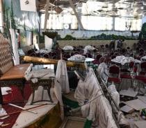 Explosão em casamento em Cabul mata 63 e fere 182 pessoas
