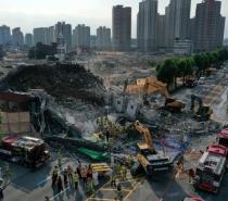 Prédio desaba durante demolição e deixa mortos na Coreia do Sul